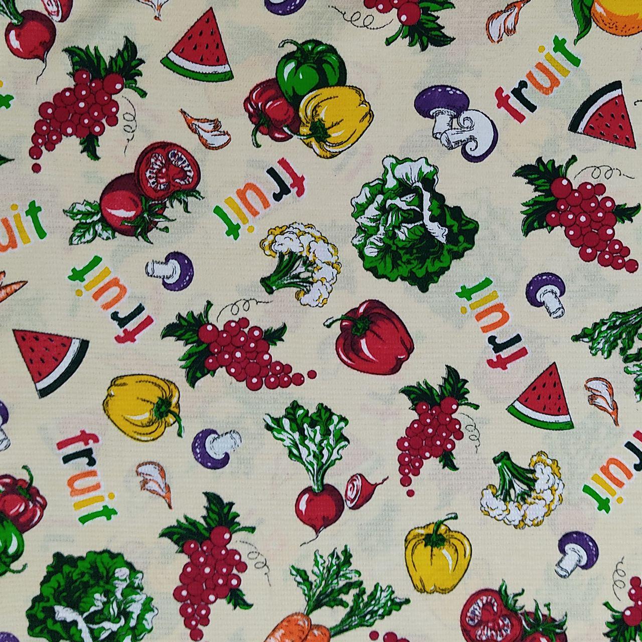 پارچه آشپزخانه طرح میوه کد 3