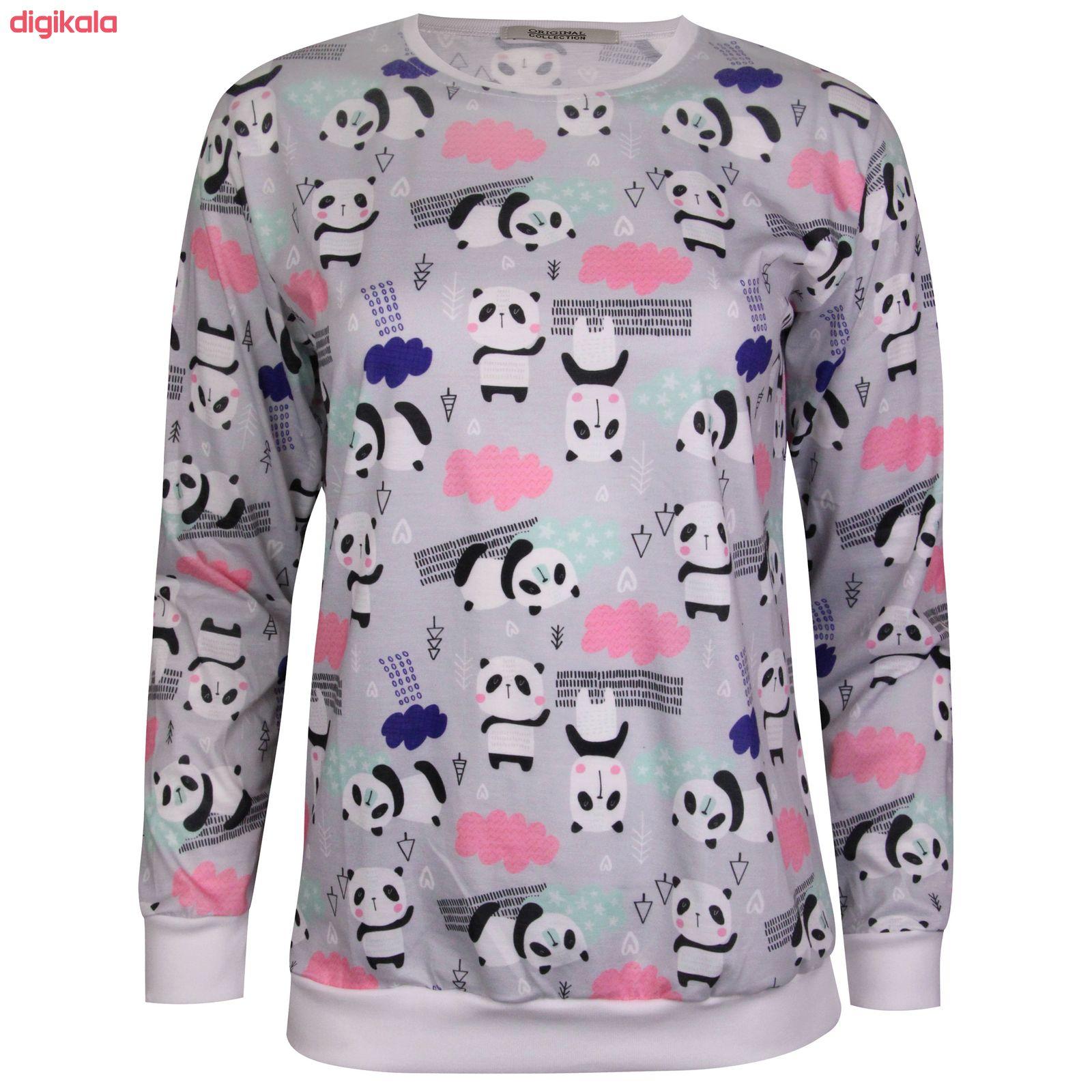 ست تی شرت و شلوار زنانه ماییلدا مدل 3587-1 main 1 1