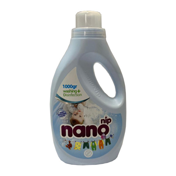 مایع لباسشویی کودک مدل 02 نانونیپ وزن 1000 گرم