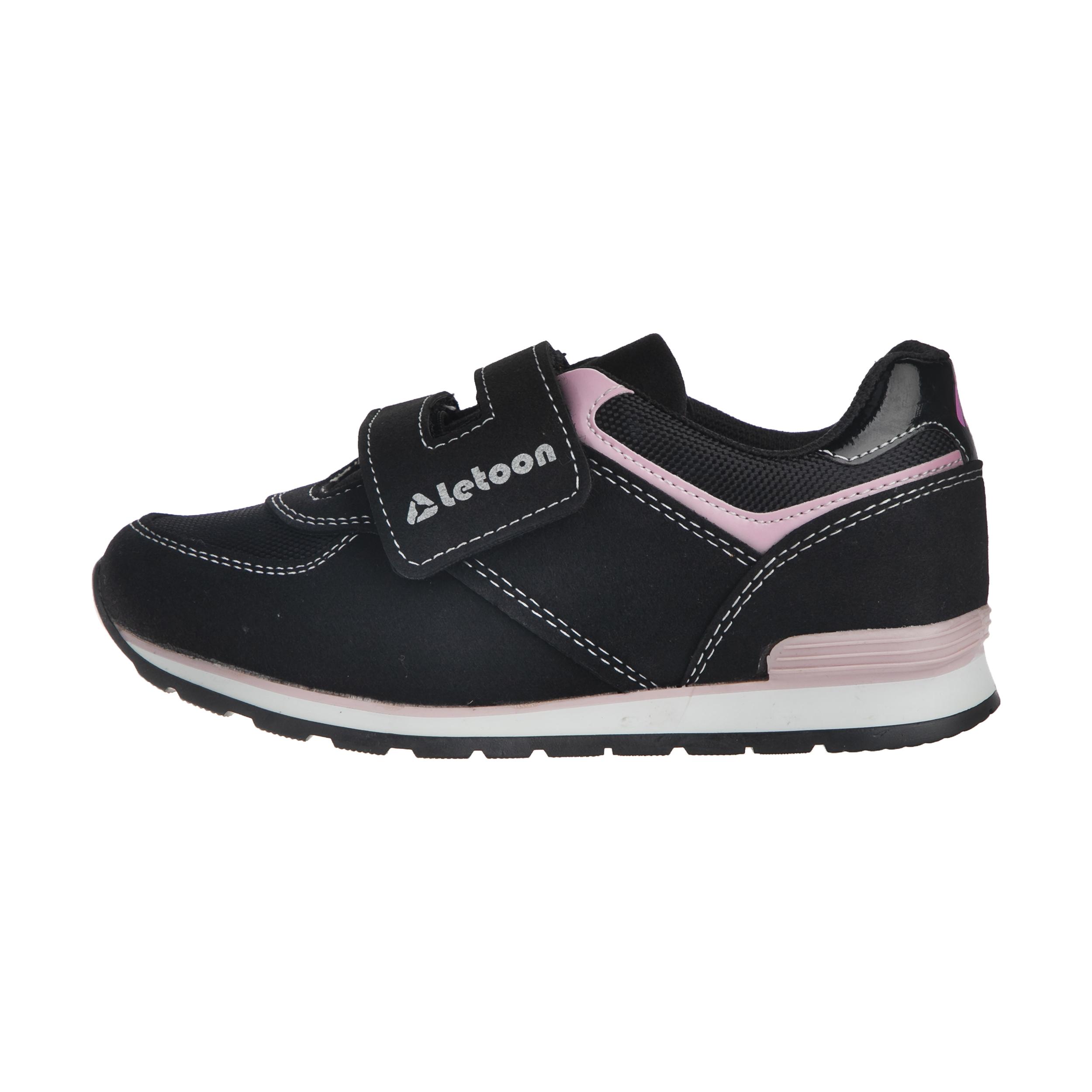 کفش مخصوص پیاده روی دخترانه لتون مدل 8699395135361
