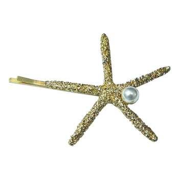 گیره مو زنانه مدل ستاره دریایی