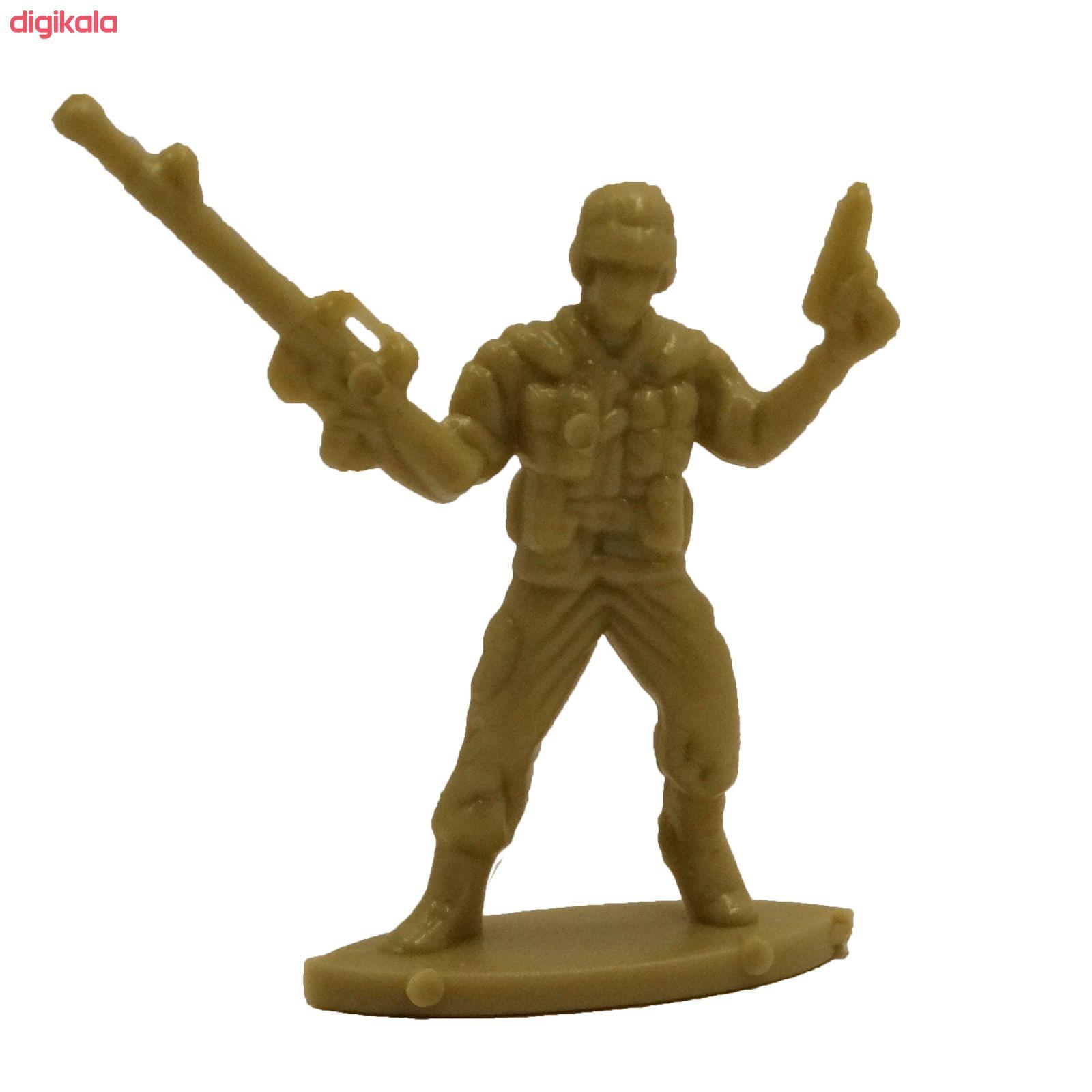 اسباب بازی جنگی مدل پادگان مجموعه 23 عددی main 1 13