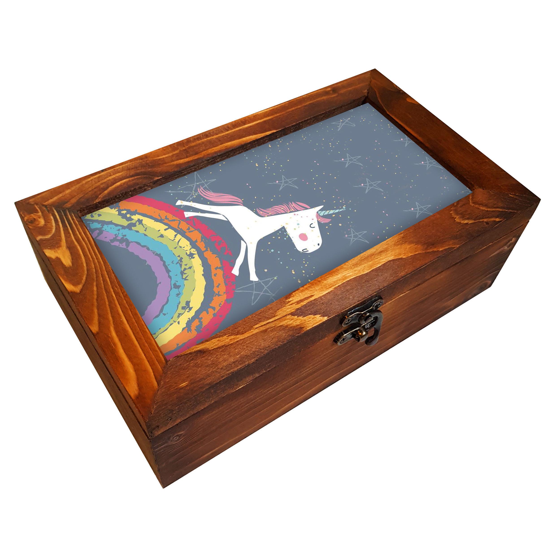 جعبه هدیه چوبی مدل         BG55