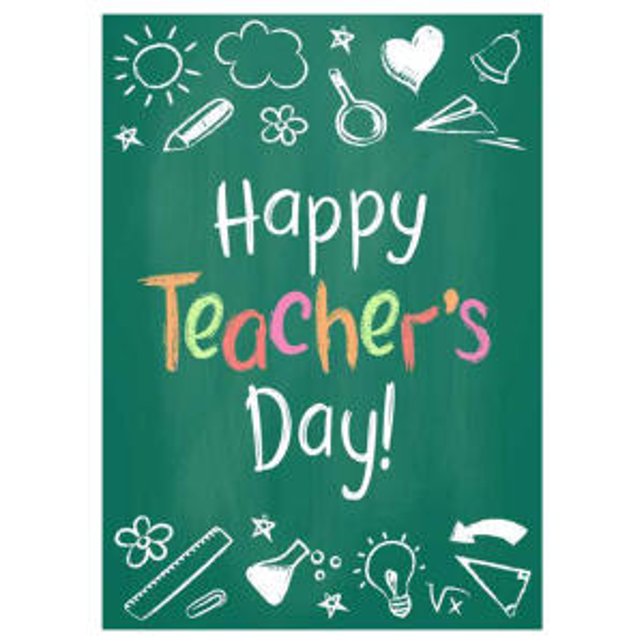 کارت پستال ماهتاب طرح روز معلم مبارک کد 1475