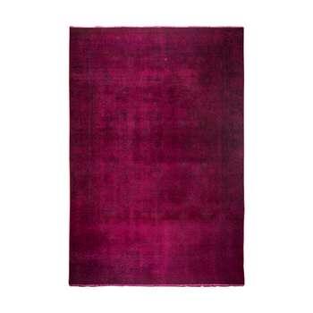 فرش دستبافت رنگ شده هفت متری کد 1350