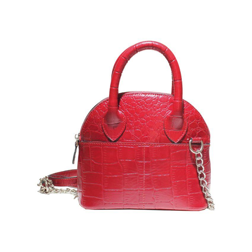 کیف دوشی زنانه چرم آرا مدل d076 -  - 17