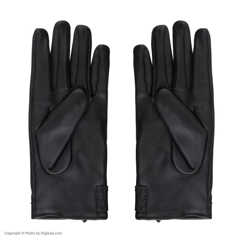 دستکش مردانه چرم مشهد مدل R0522-001