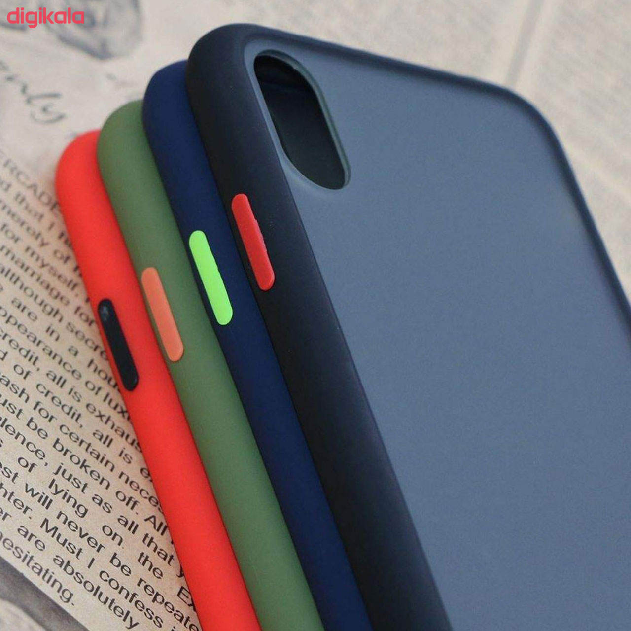 کاور مدل PM مناسب برای گوشی موبایل شیائومی Redmi 9A main 1 7