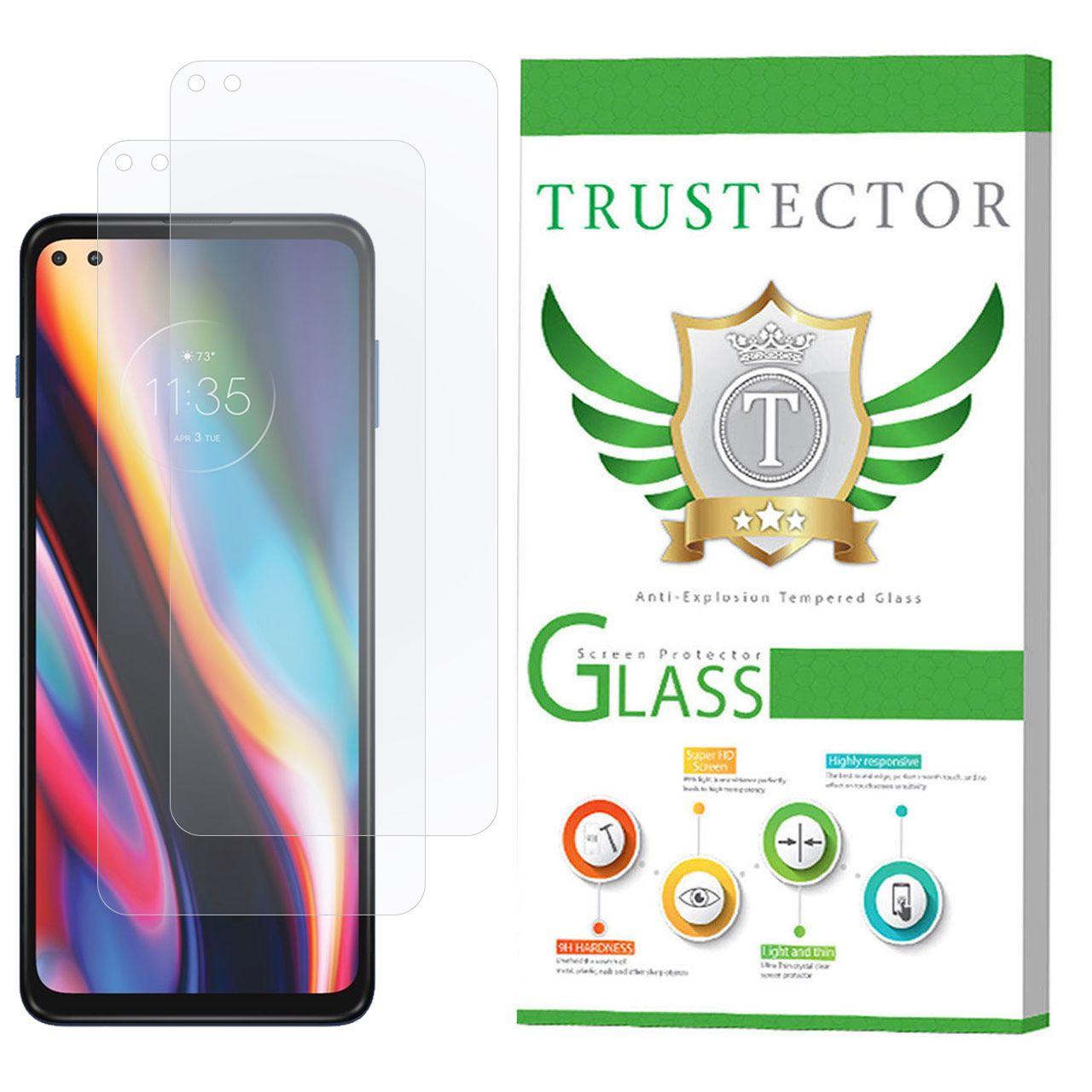 محافظ صفحه نمایش تراستکتور مدل GLS مناسب برای گوشی موبایل موتورولا Moto G 5G Plus بسته 2 عددی