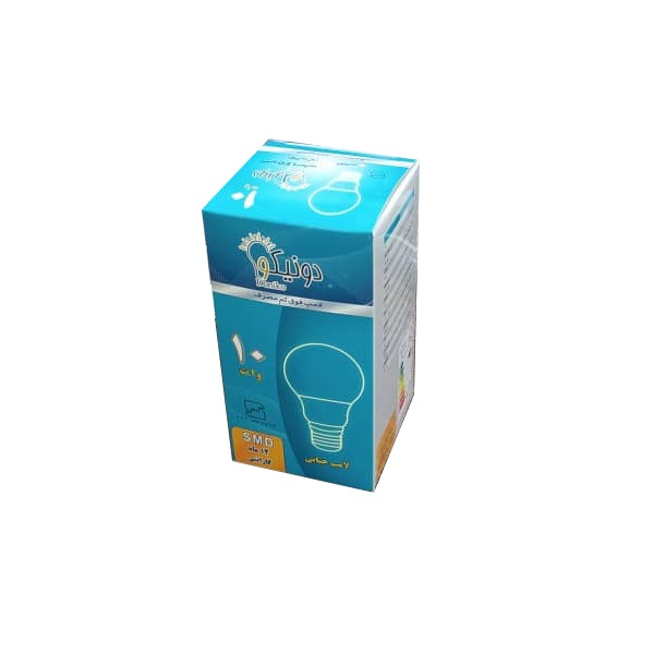 لامپ 12 وات دونیکو مدل 01 پایه E27
