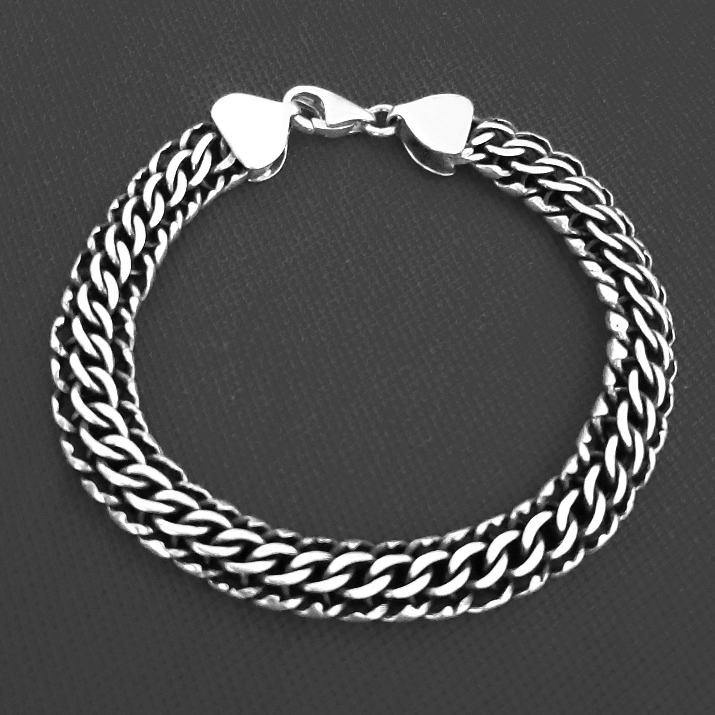 خرید                                      دستبند نقره کد HN88
