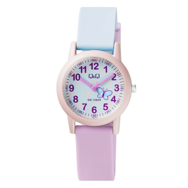 ساعت مچی عقربه ای دخترانه کیو اند کیو مدل VS49J003Y
