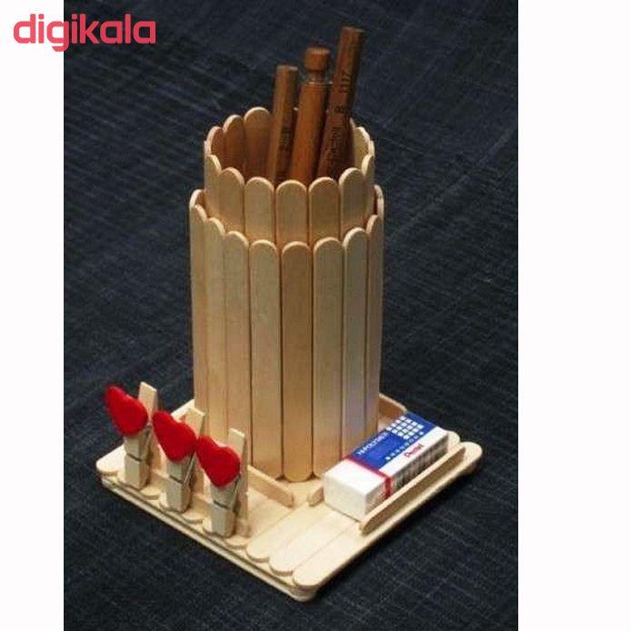 چوب بستنی مدل A1102 بسته 50 عددی main 1 2