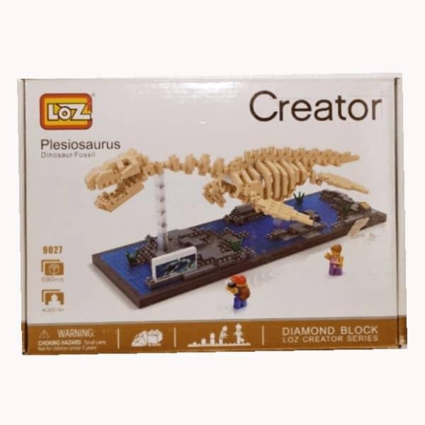 ساختنی لوز مدل دایناسور کد 9027