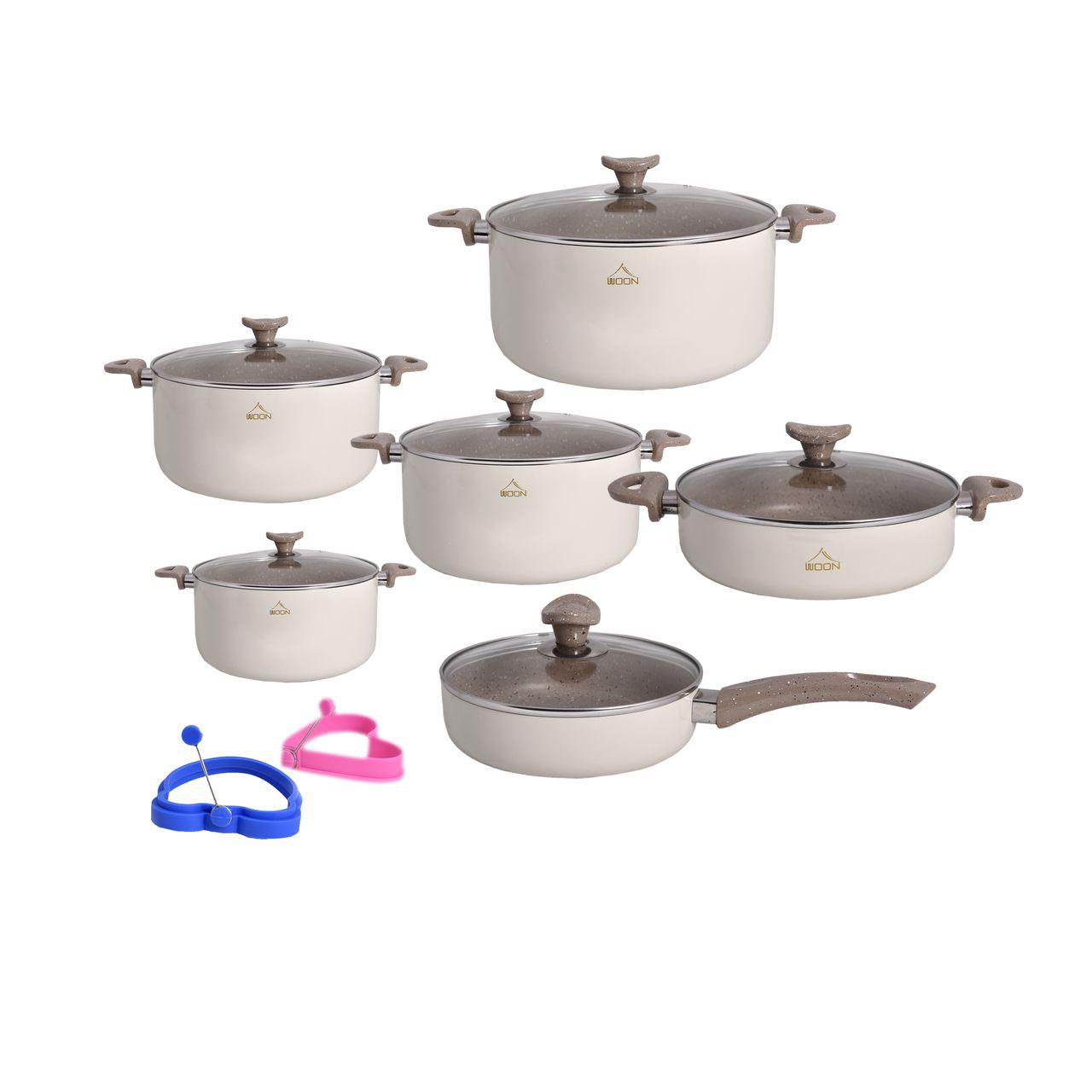 سرویس پخت و پز 14 پارچه وون مدل bismark