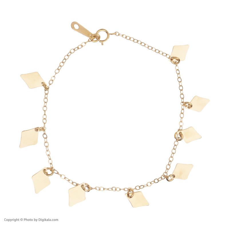گردنبند طلا 18 عیار زنانه مدیسا مدل B3001