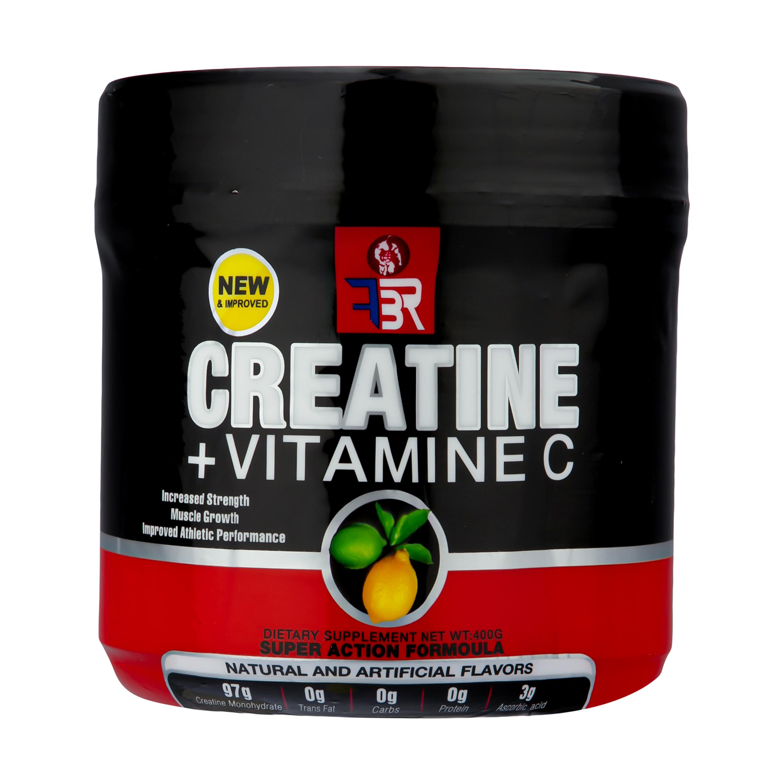 پودر کراتین+ویتامین C اف بی ار - 400 گرم