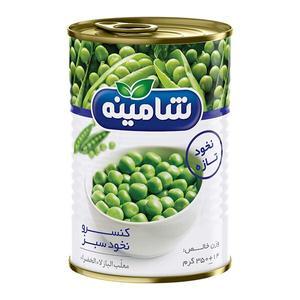 کنسرو نخود سبز شامینه - 350 گرم