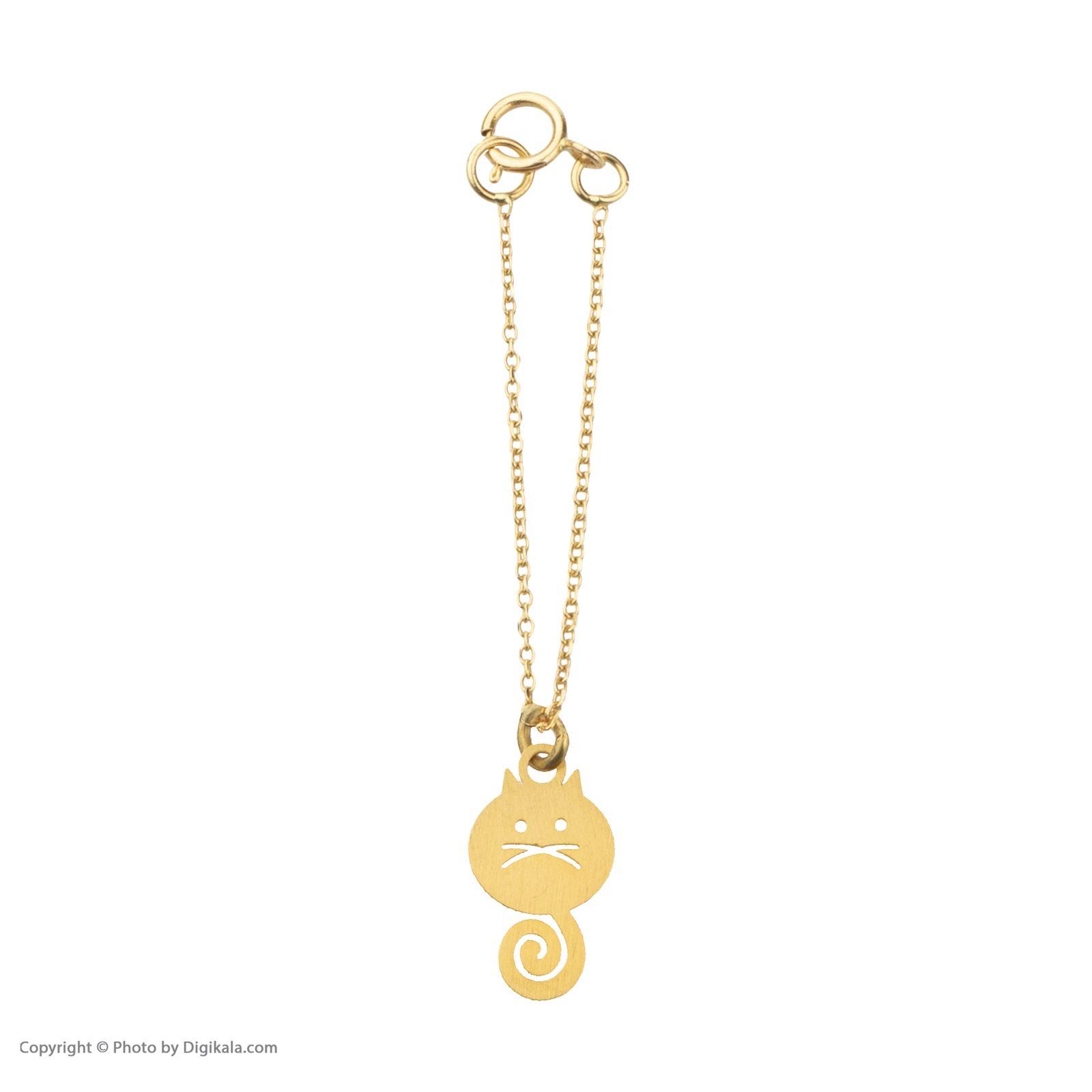 آویز ساعت طلا 18 عیار زنانه میو گلد مدل GD615 -  - 3