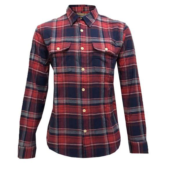 پیراهن آستین بلند مردانه مدل NCK 0236 pshm
