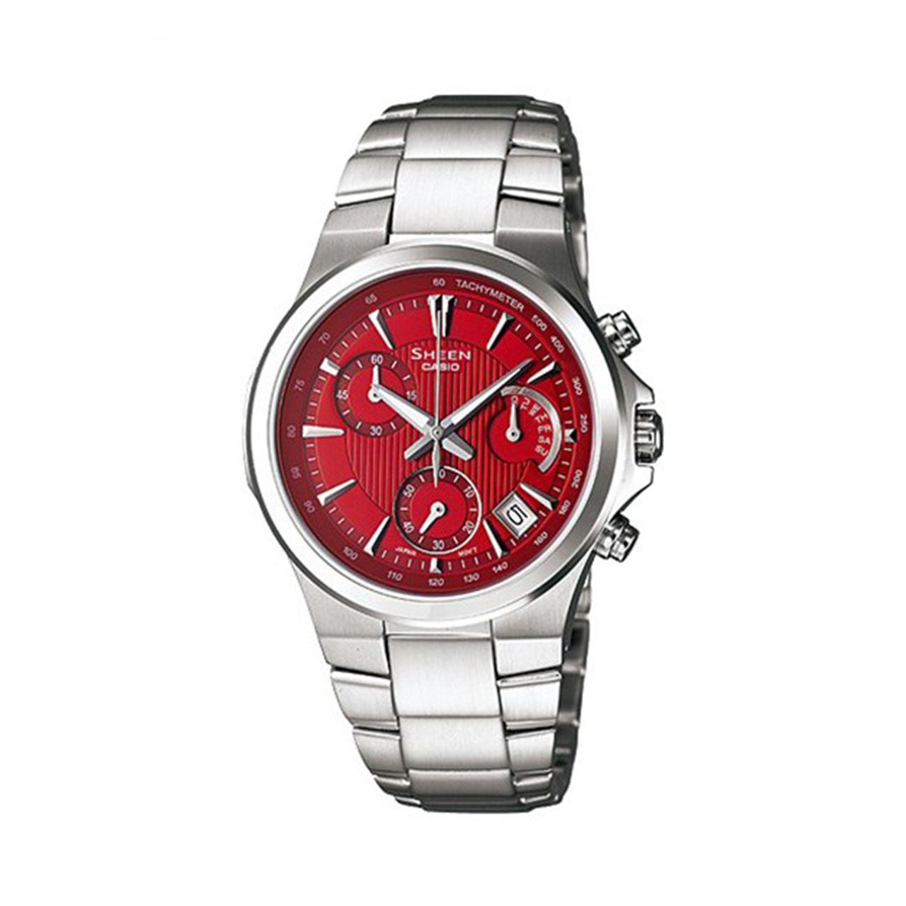 ساعت مچی عقربه ای زنانه کاسیو شین SHE-5019D-4ADR              خرید (⭐️⭐️⭐️)