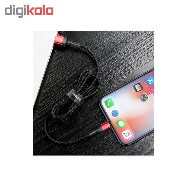کابل تبدیل USB به لایتنینگ باسئوس مدل CALKLF-GG1 Cafule Special Edition طول 1 متر main 1 7
