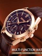 ساعت مچی عقربه ای مردانه اسکمی مدل 9127GH-NP -  - 5