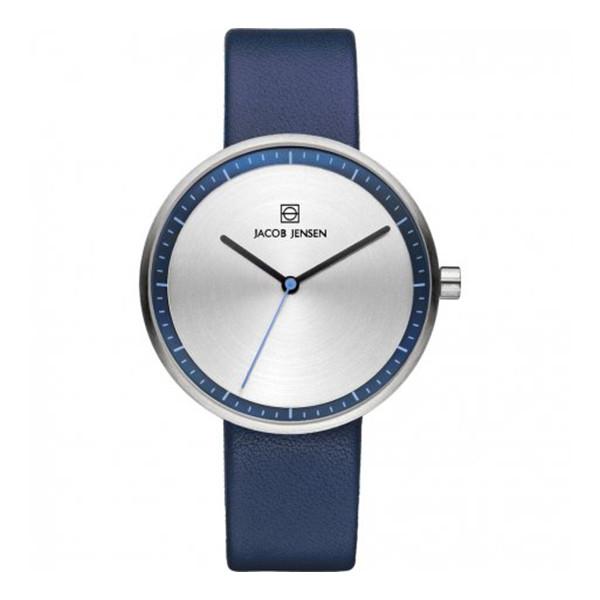 ساعت جیبی عقربه ای زنانه جیکوب جنسن مدل Strata 282