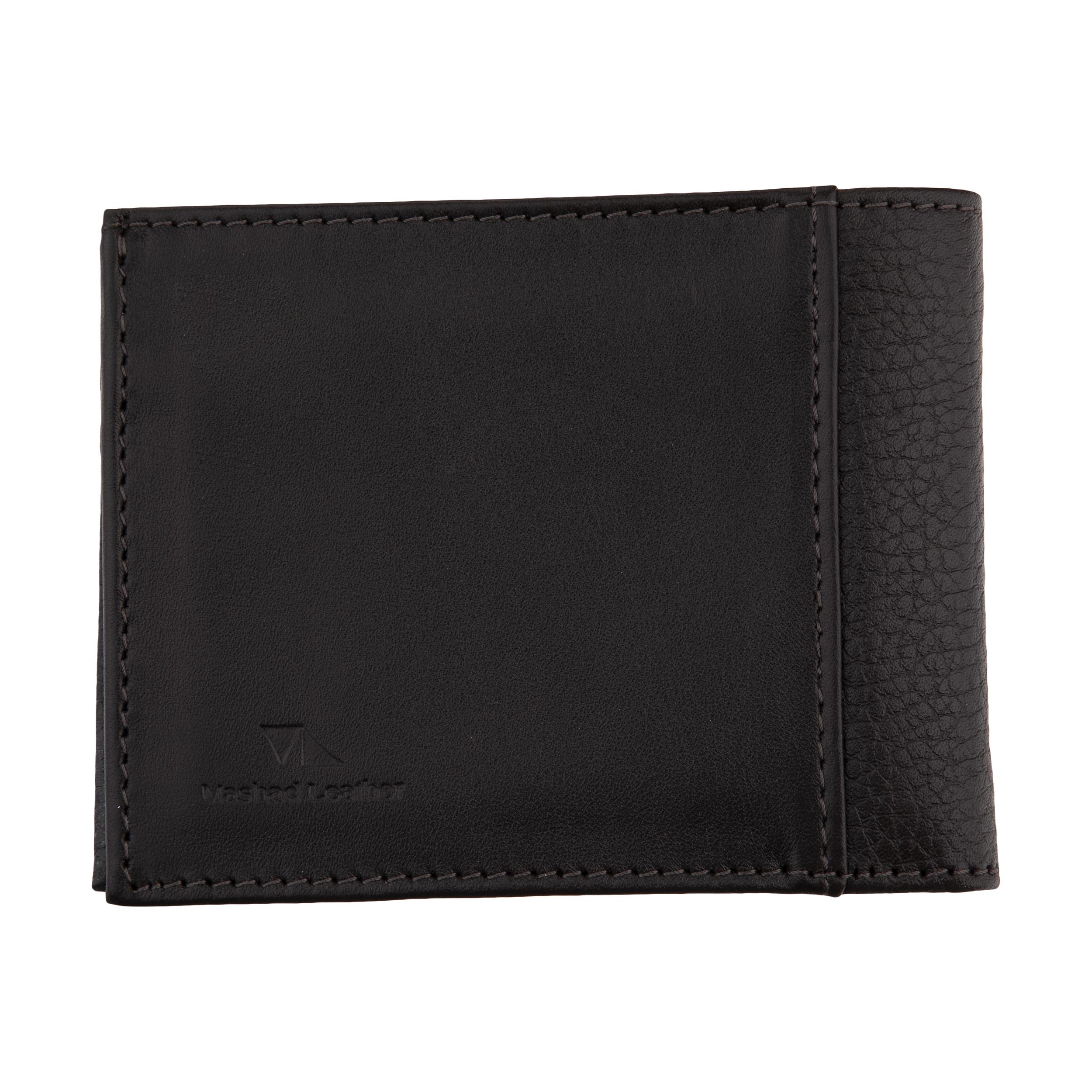 کیف پول مردانه چرم مشهد مدل D0608-091