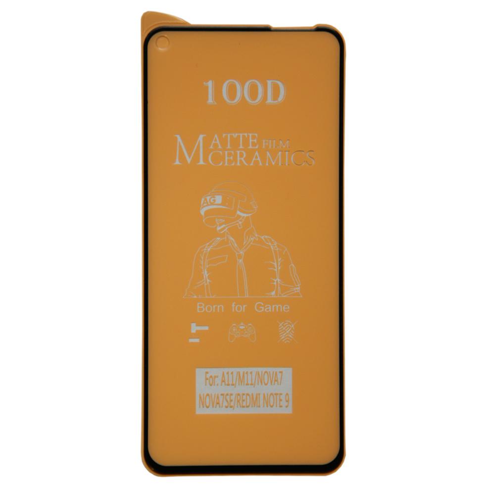 محافظ صفحه نمایش مات مدل CR مناسب برای گوشی موبایل شیائومی Redmi Note 9
