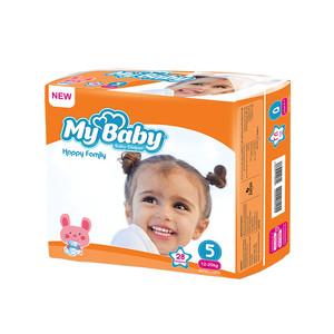پوشک بچه مای بیبی سایز 5 بسته 28 عددی