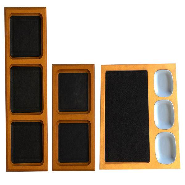 اردوخوری مدل PAZELVOD مجموعه 3 عددی