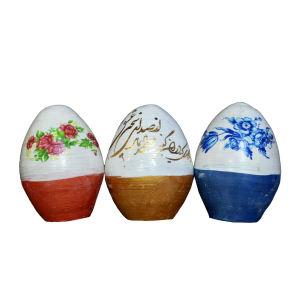 تخم مرغ تزیینی مدل رنگی مجموعه 3 عددی