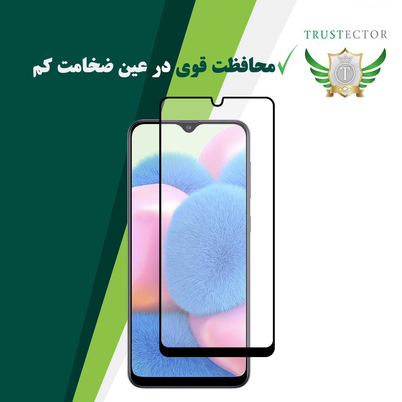 محافظ صفحه نمایش سرامیکی تراستکتور مدل CMT مناسب برای گوشی موبایل سامسونگ Galaxy A30s main 1 5