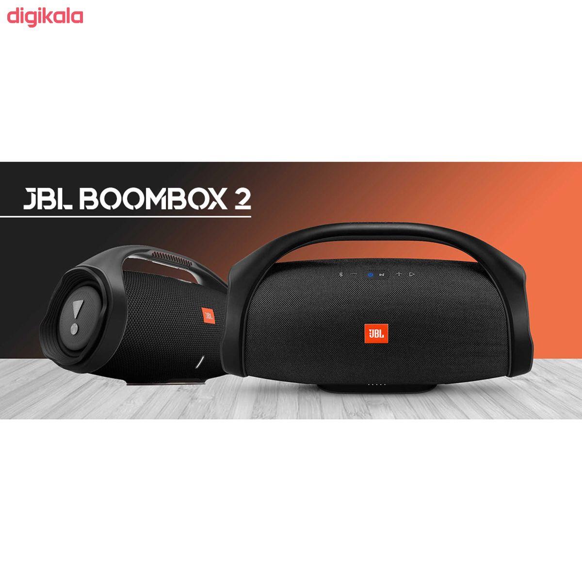اسپیکر بلوتوثی قابل حمل جی بی ال مدل BoomBox 2 main 1 6