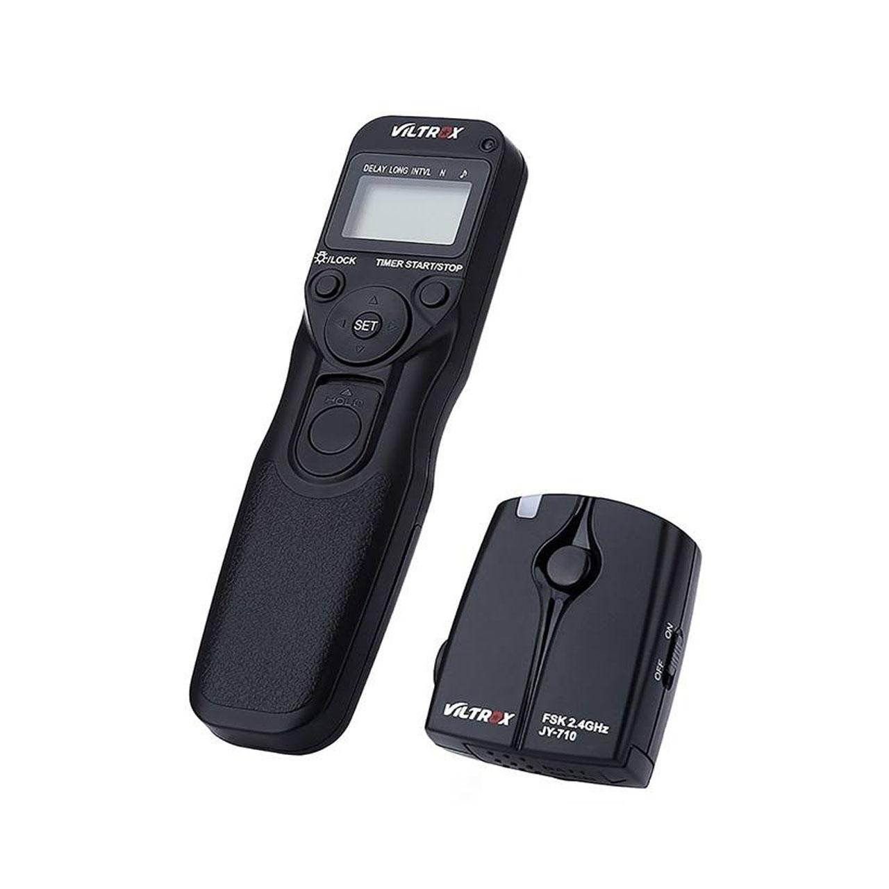 ریموت کنترل بی سیم دوربین ویلتروکس مدل JY-710 C 3 مناسب برای دوربین های کانن