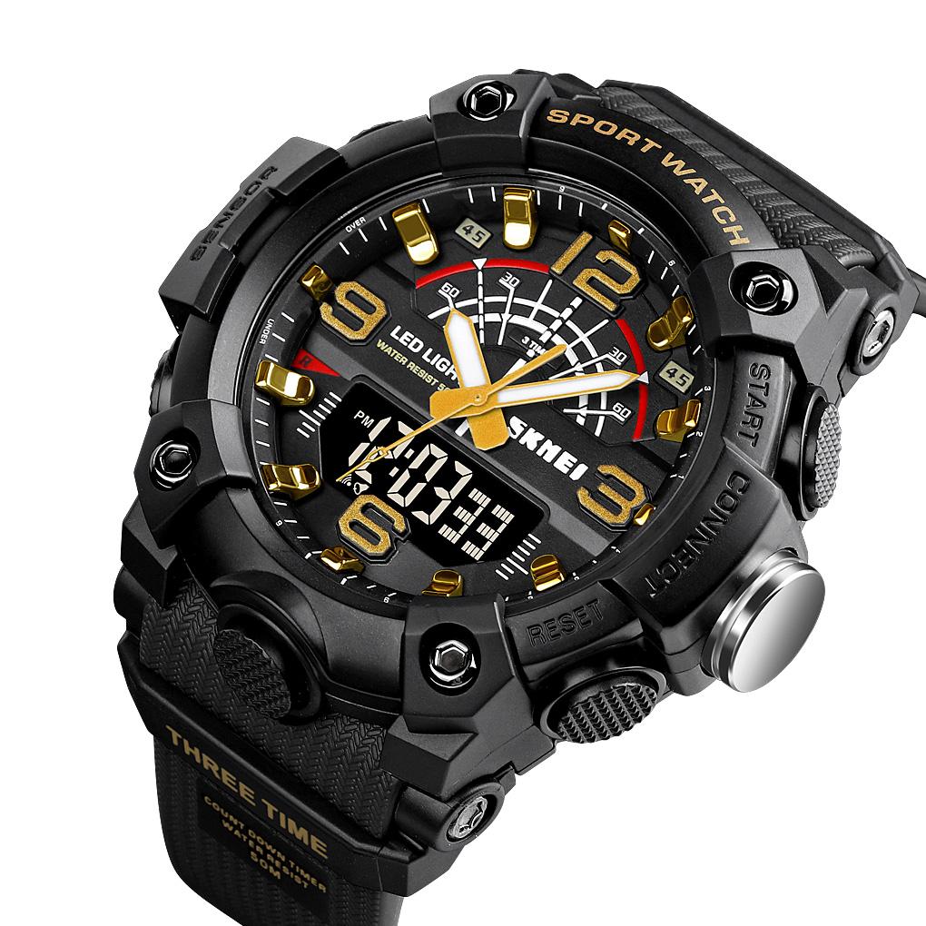 ساعت مچی عقربه ای مردانه اسکمی مدل 1619              خرید (⭐️⭐️⭐️)