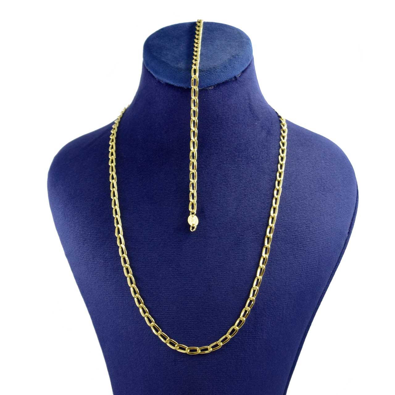 نیم ست طلا 18 عیار زنانه کانیار گالری مدل ZDG1