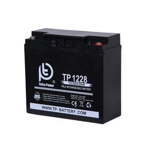 باتری خورشیدی تلکو پاور مدل TP 12-28 ظرفیت 28 آمپر ساعت