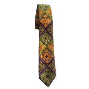 کراوات دست دوز مدل H004CR