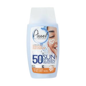 کرم ضدآفتاب پیکسل مدل Sensitive And Dry Skin حجم 50 میلی لیتر
