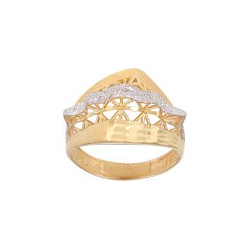 انگشتر طلا 18 عیار زنانه کد G748