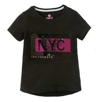 تی شرت آستین کوتاه دخترانه پیپرتس مدل 005632