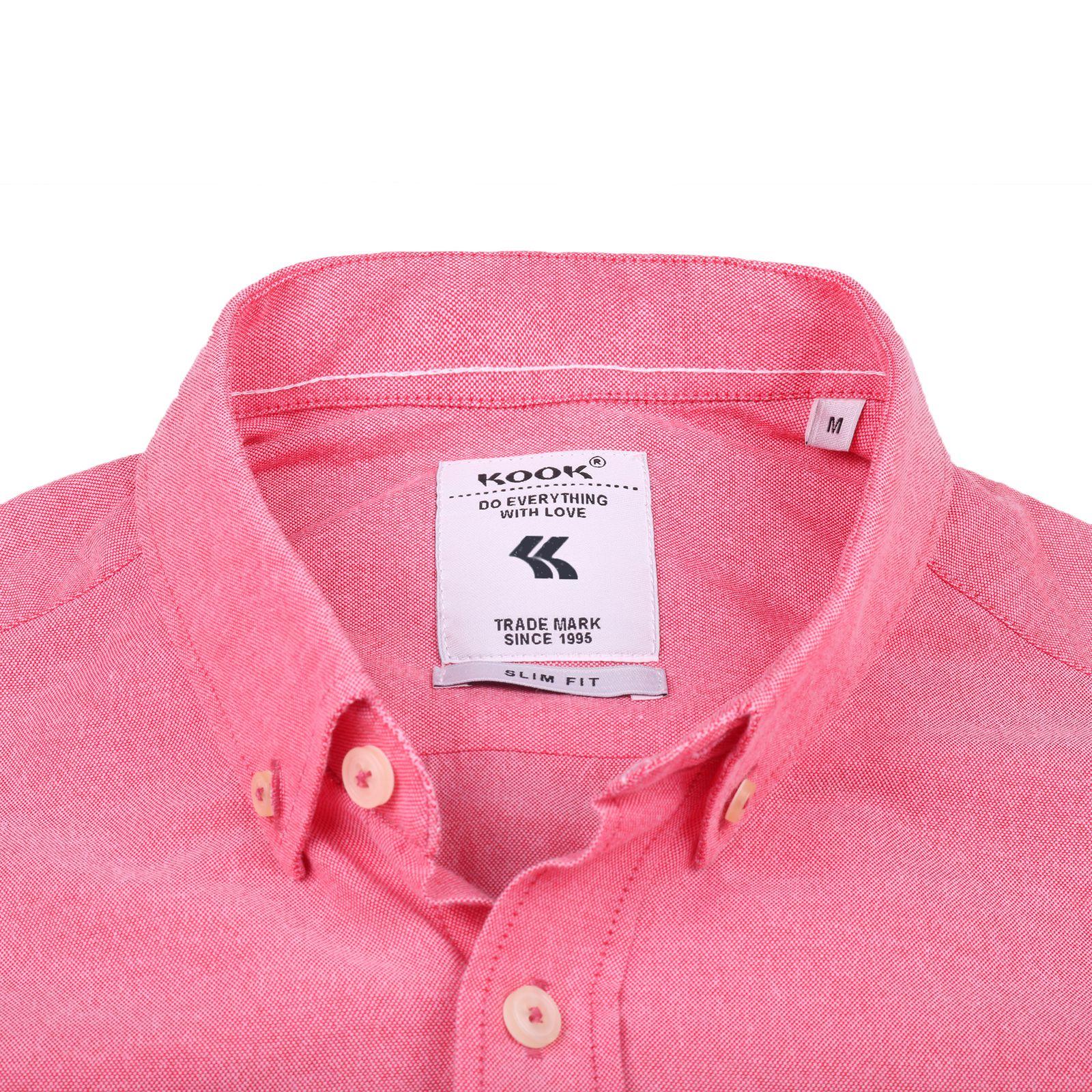 پیراهن مردانه کوک تریکو مدل 61726 -  - 4