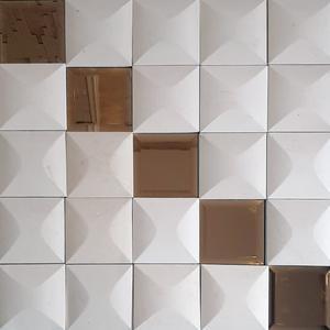 دیوارپوش مدل آینه ای بسته 25 عددی