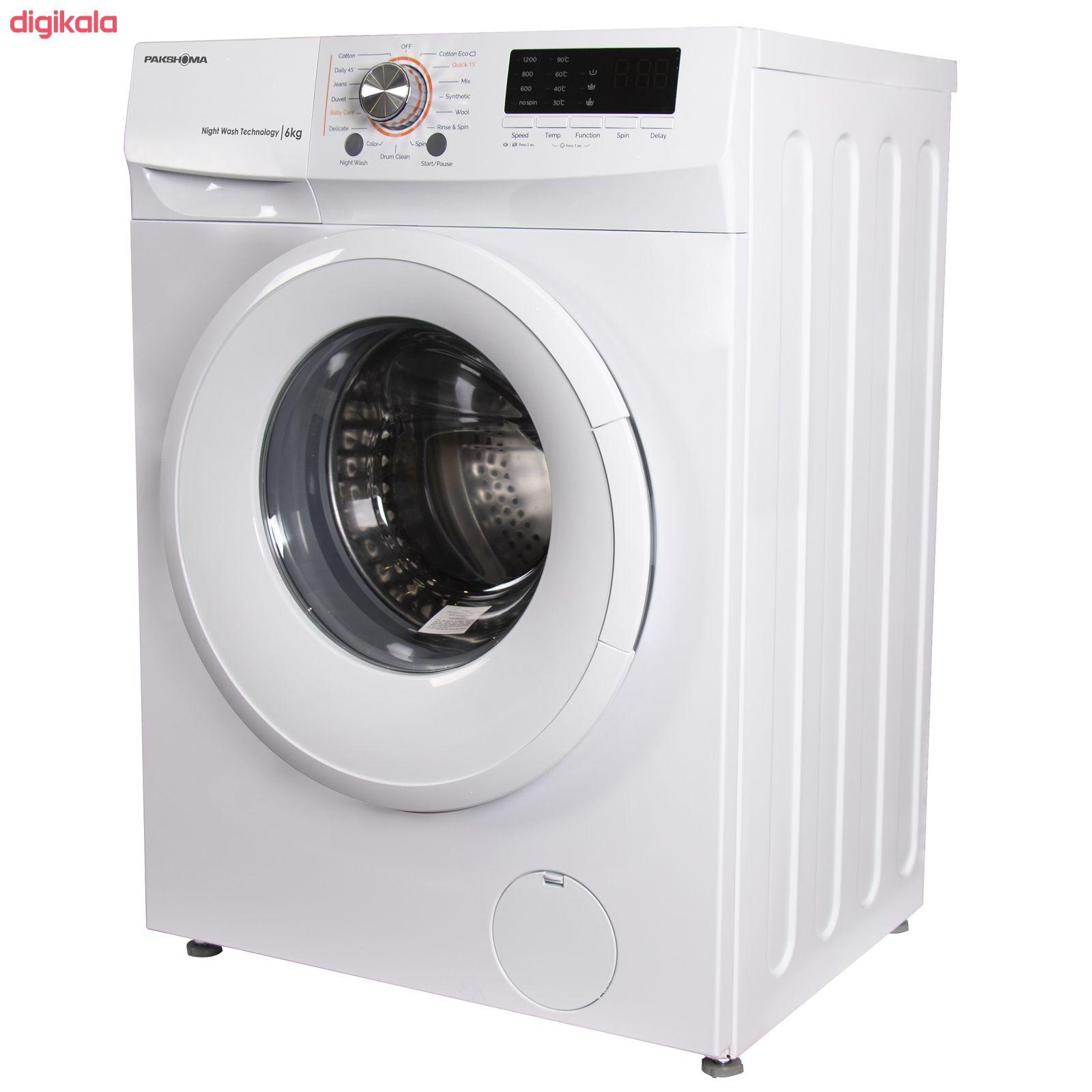 ماشین لباسشویی پاکشوما مدل TFU-63100 ظرفیت 6 کیلوگرم main 1 3