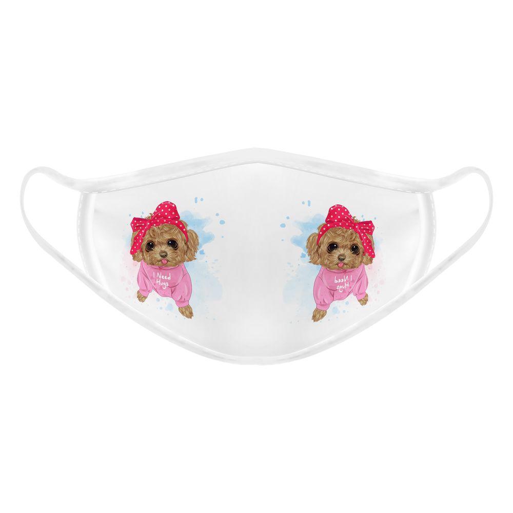 تصویر ماسک تزیینی بچگانه طرح سگ پاپیونی کد 617015
