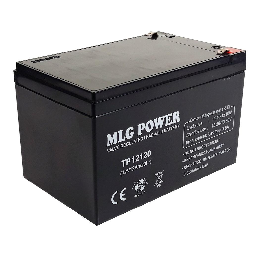 باتری یو پی اس 12ولت 12 آمپر ساعت ام ال جی پاور مدل TP12120