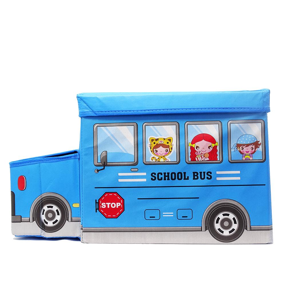 جعبه اسباب بازی کودک طرح اتوبوس کد 0096