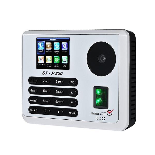 دستگاه حضور و غیاب شرکت کامپیوتری علم و صنعت نوید مدل p220